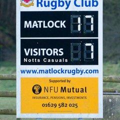 Matlock 17  v  Notts Casuals 7