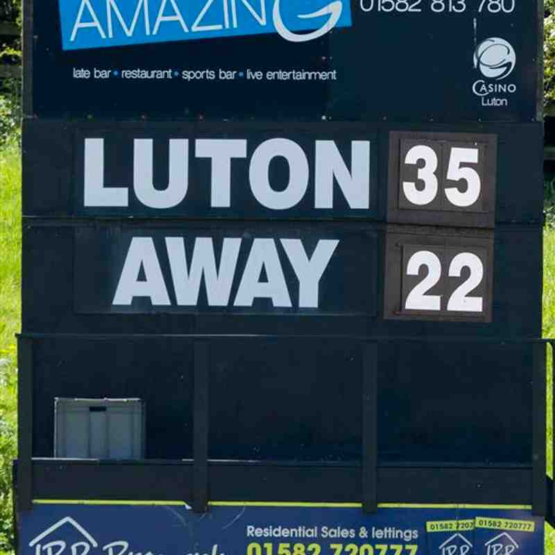 Luton 35 v Matlock 22 in League Play-Off