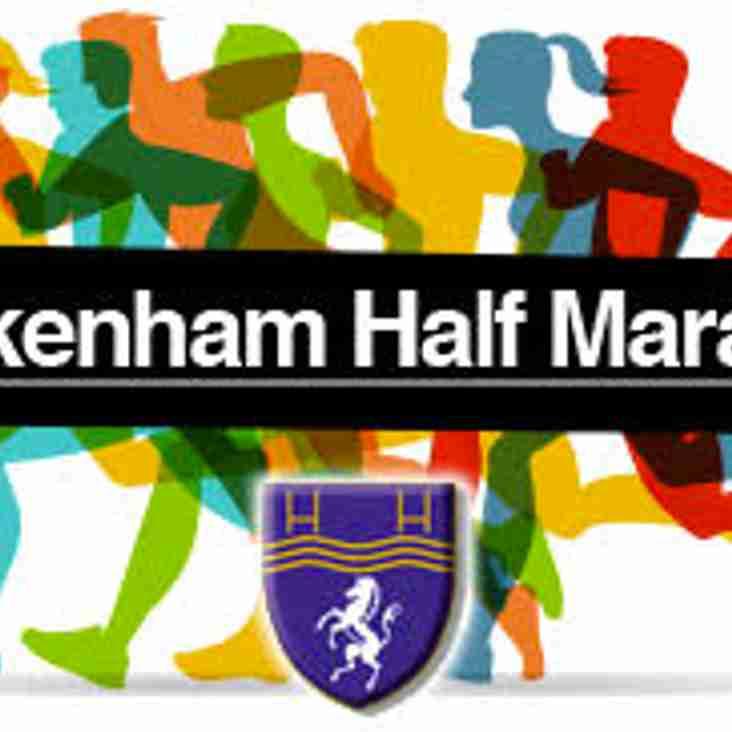 Beckenham Half Marathon this weekend