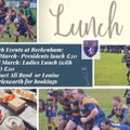 Ladies Lunch - Saturday 23 March from 1pm