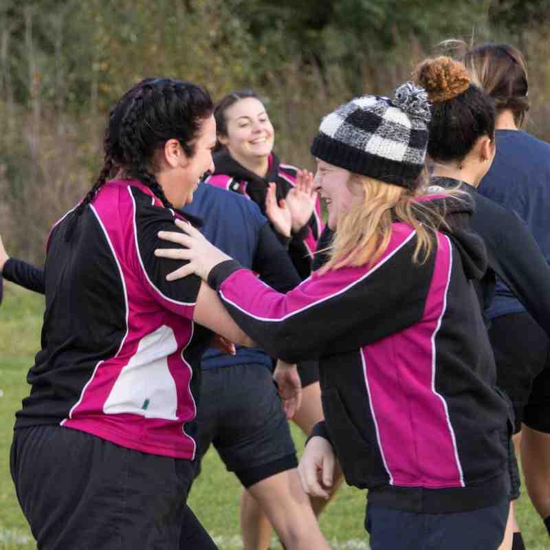 Hucclecote vs Cheltenham Civil ladies 23.10.16