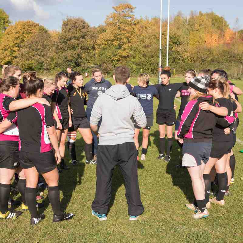 Hucclecote vs Cheltenham Civil ladies 23.10.16