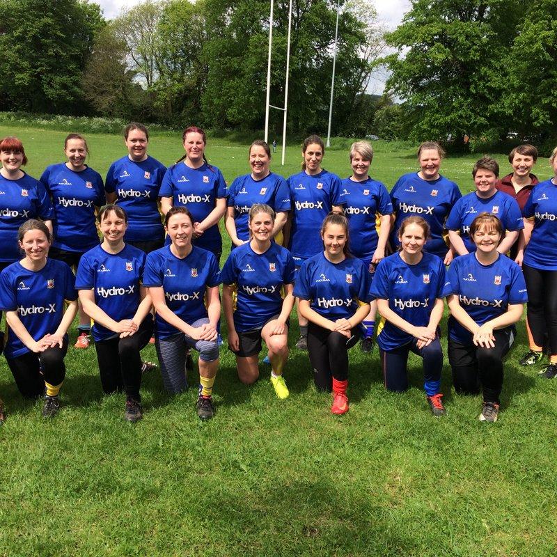 Matlock ladies Rugby Team