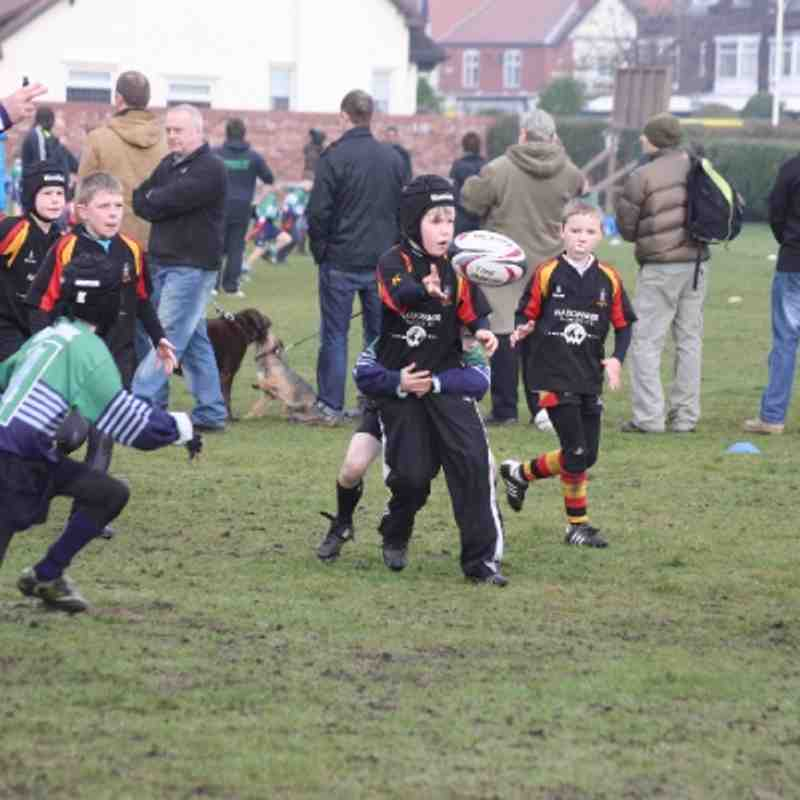 Southport U10's v Ormskirk Jan 2013