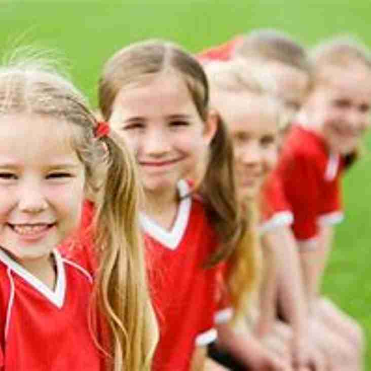 Free Girls Football Leighton United Wildcat Sessions continue Saturday AM and Tuesday PM