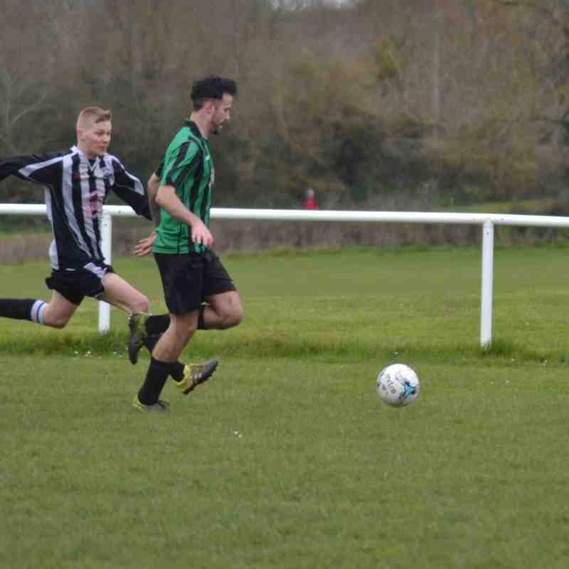 RESERVES v Casty away 9th April '16. Lost 2-1