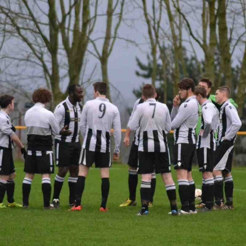 FIRSTS away to Brymbo 19th December '15. Lost