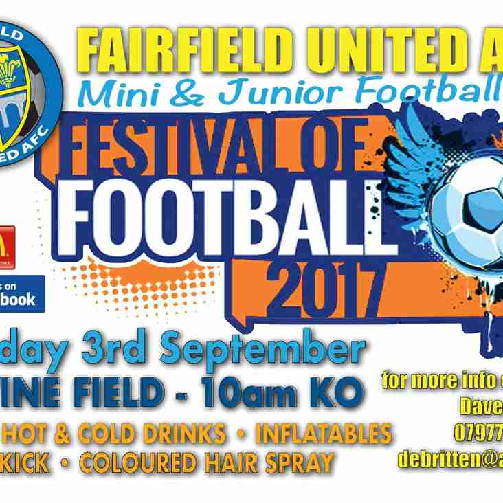 Festival Of Football 2017