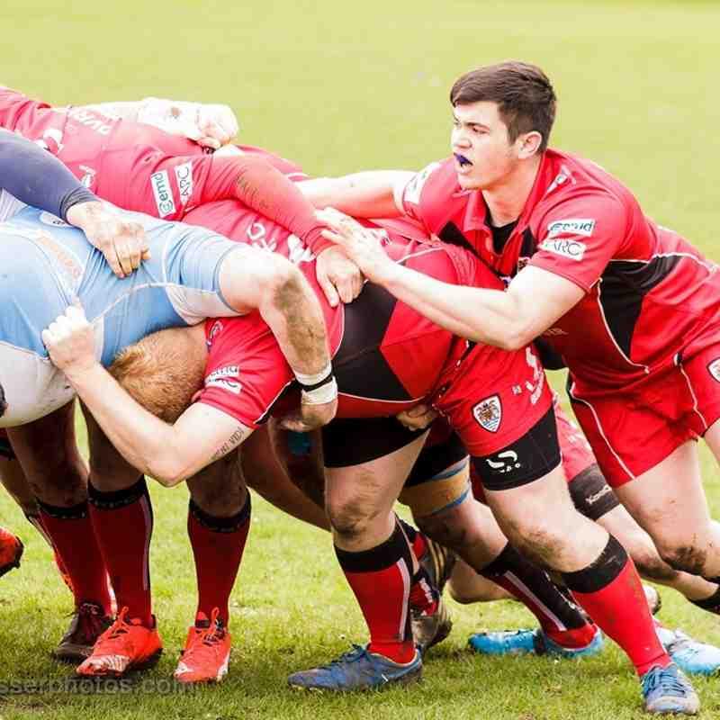 Dartford Valley 1st team vs Faversham - 16-04-2016