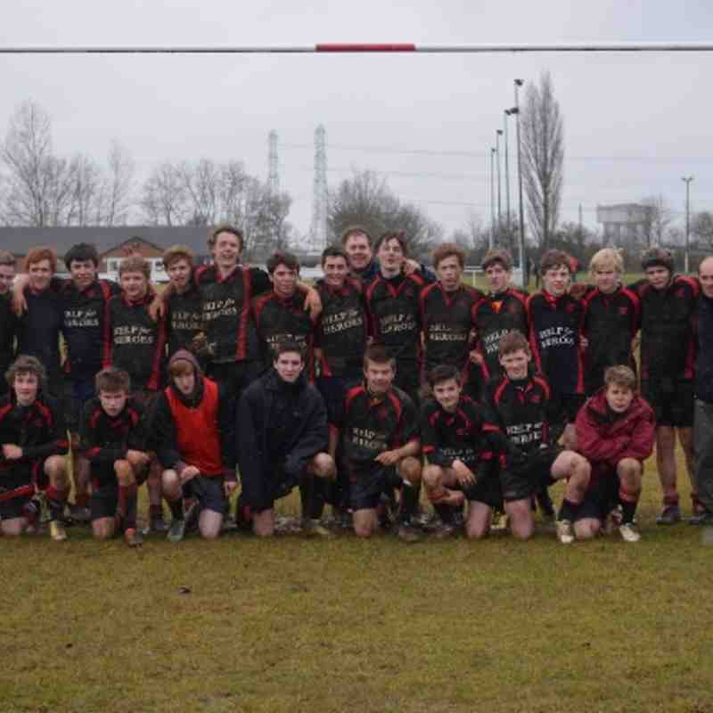 U15s East Midlands Plate Final