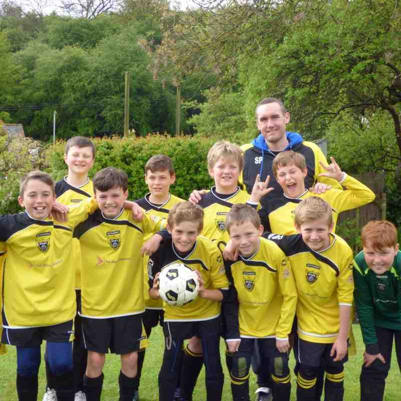 HTFC 2012 U11's 7-a-side Castle Donington & Gasny Exchange Tournament - 03/05/2015