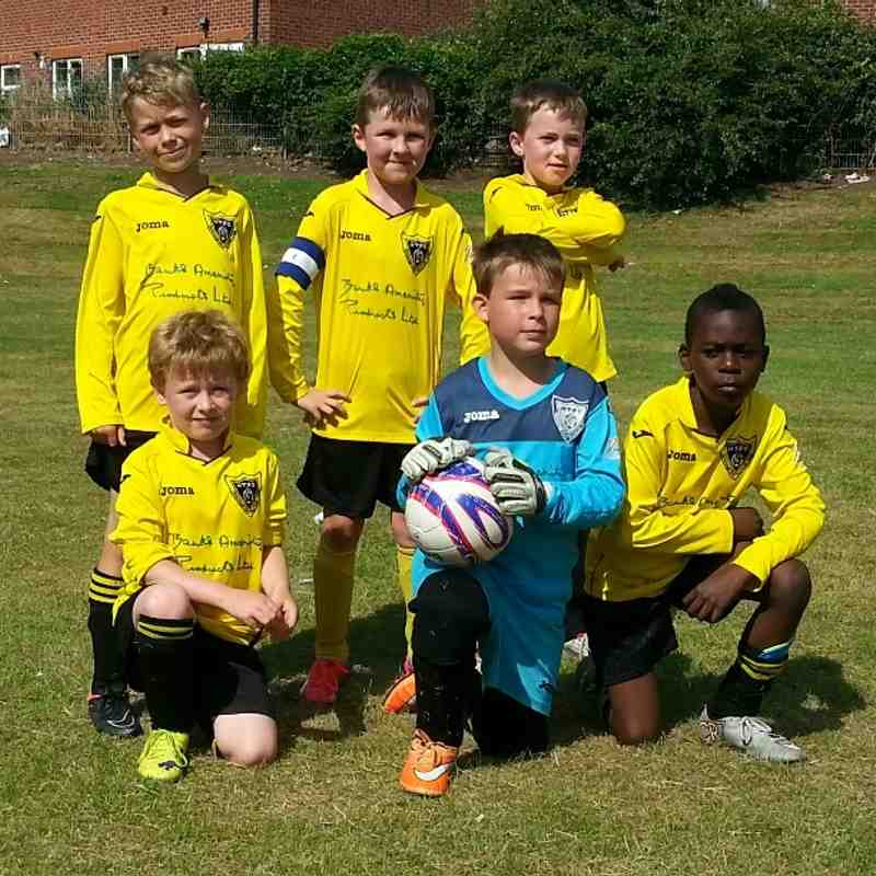 HTFC U7 Rangers - Coalville Tournament 04/07/2015