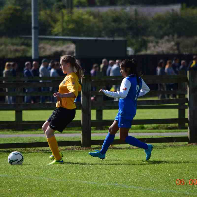 HTFC U16G v Leicester City Ladies FC U16G - 06/09/2015