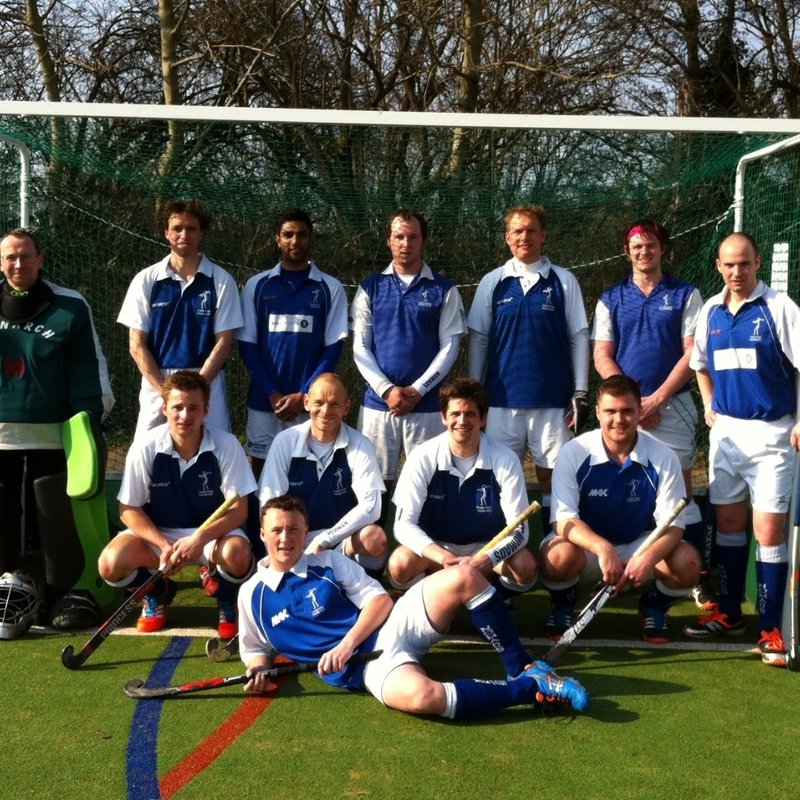 Mens 1st XI beat Norwich City 3 2 - 5