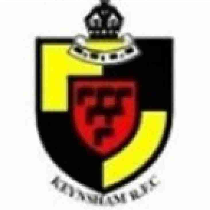 1st GO DOWN BY 22-15 at KEYNSHAM BUT SCORE LOSING BONUS POINT TRY IN INJURY TIME