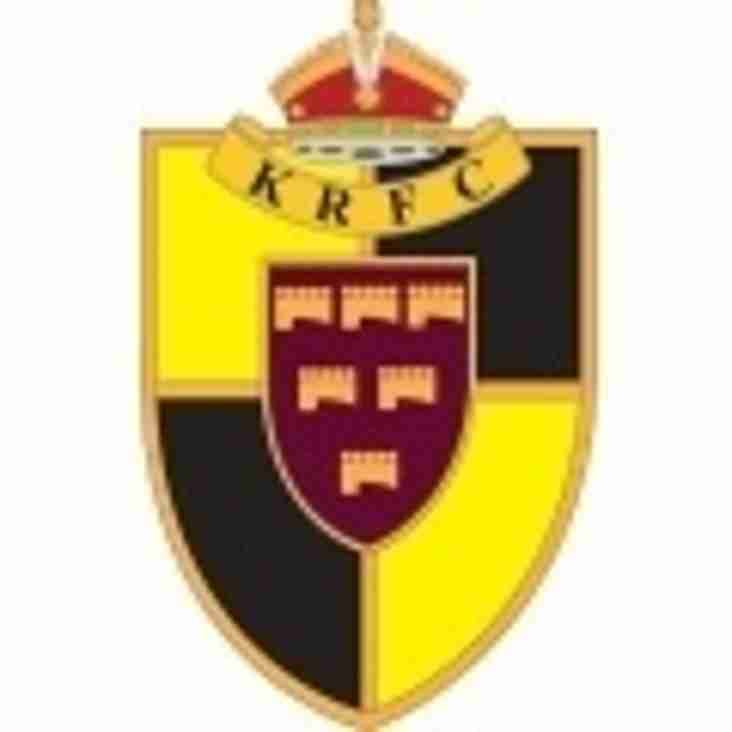 SAT 16th JAN - 1sts HOME to KEYNSHAM, 2nds AWAY to CHELT SARACENS, 3rds HOME to CAINSCROSS