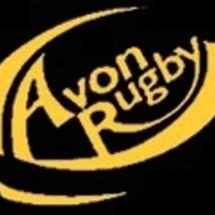 SAT 8th OCTOBER - 1sts HOME to AVON, 2nds HOME to CHELT SARACENS, 3rds AWAY to MINCHINHAMPTON