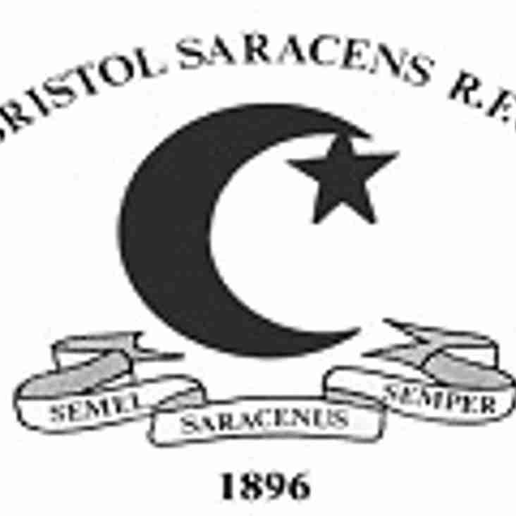 SAT 18th FEB - 1sts AWAY to BRISTOL SARACENS, 2nds AWAY to STROUD NOMADS