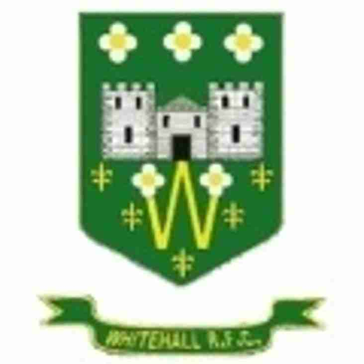 1st XV WIN AT WHITEHALL IN LEAGUE/CUP DOUBLE HEADER