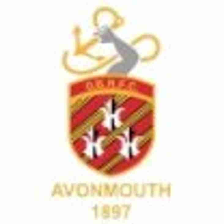 SAT 6th OCT - 1sts HOME to AVONMOUTH OLD BOYS - 2nds AWAY to CHELTENHAM SARACENS