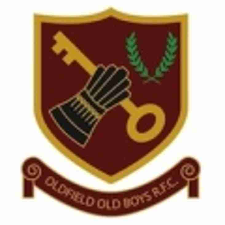 SAT 11th NOV - 1sts HOME to OLDFIELD OLD BOYS - 2nds AWAY to GLOS OLD BOYS - BOTH MATCHES HAVE 2.30 K.O.