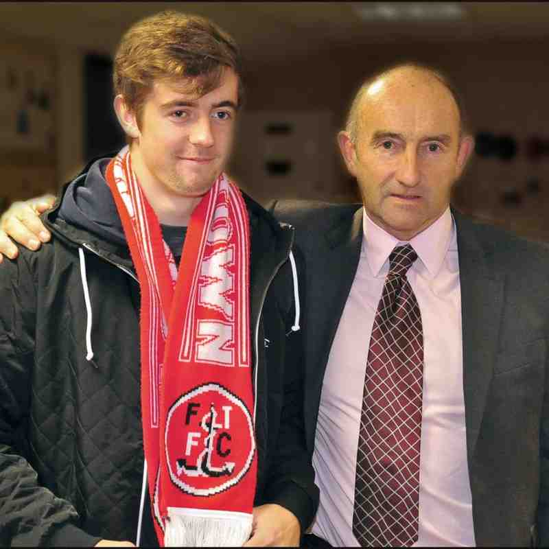 Jack Sowerby Jack Sowerby Signs for FTFC Club photos Squires Gate FC Official