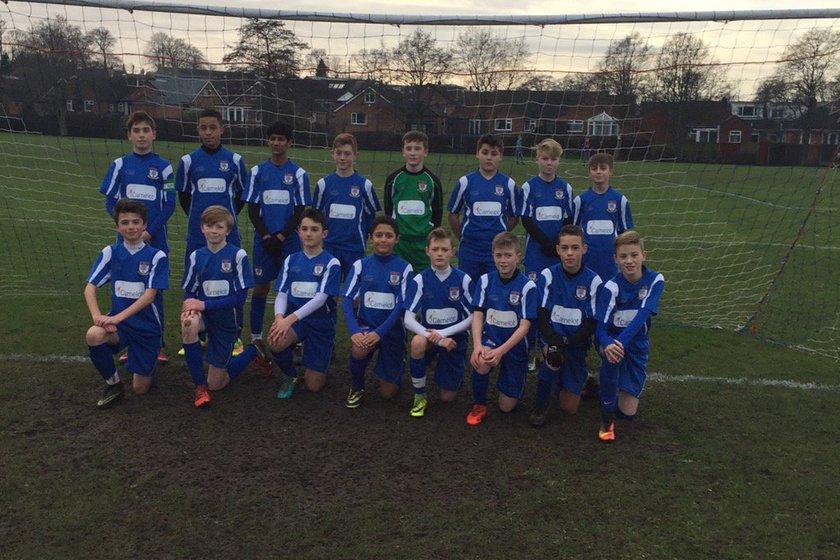 Under 14's beat Squires Gate FC Under 14's Reds 4 - 1