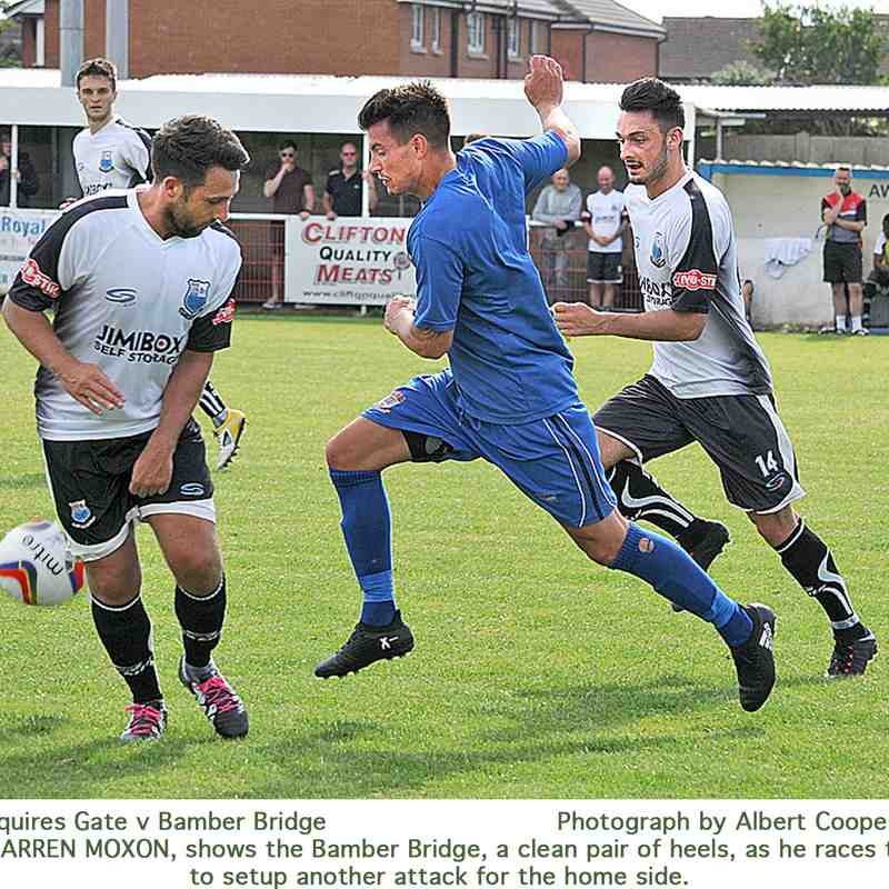 Squires Gate 2-6 Bamber Bridge - Saturday 22nd July 2017