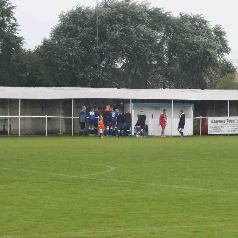 Sunday 3rd September 2017 - Squires Gate Under 13's 13-2 Blackpool Rangers Under 13's
