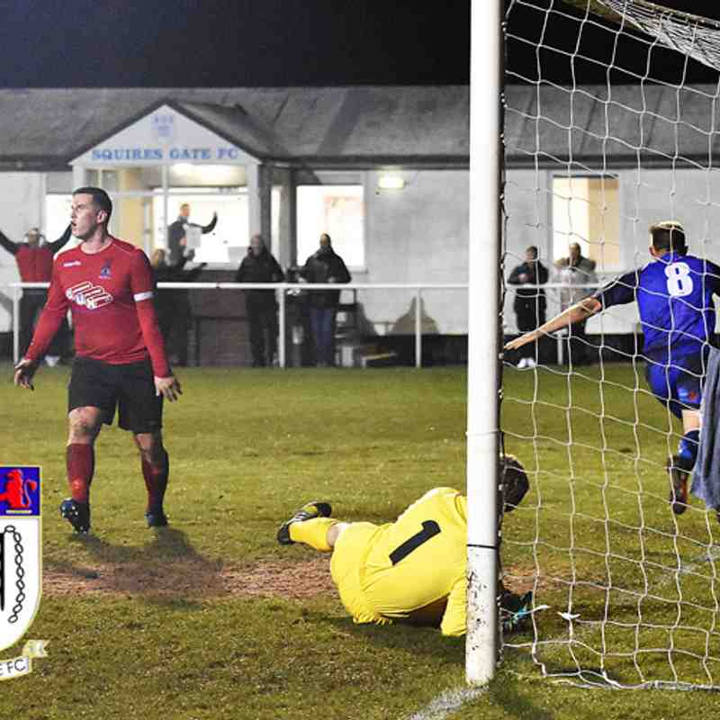 Squires Gate 2-1 Irlam - Tuesday 14th November 2017