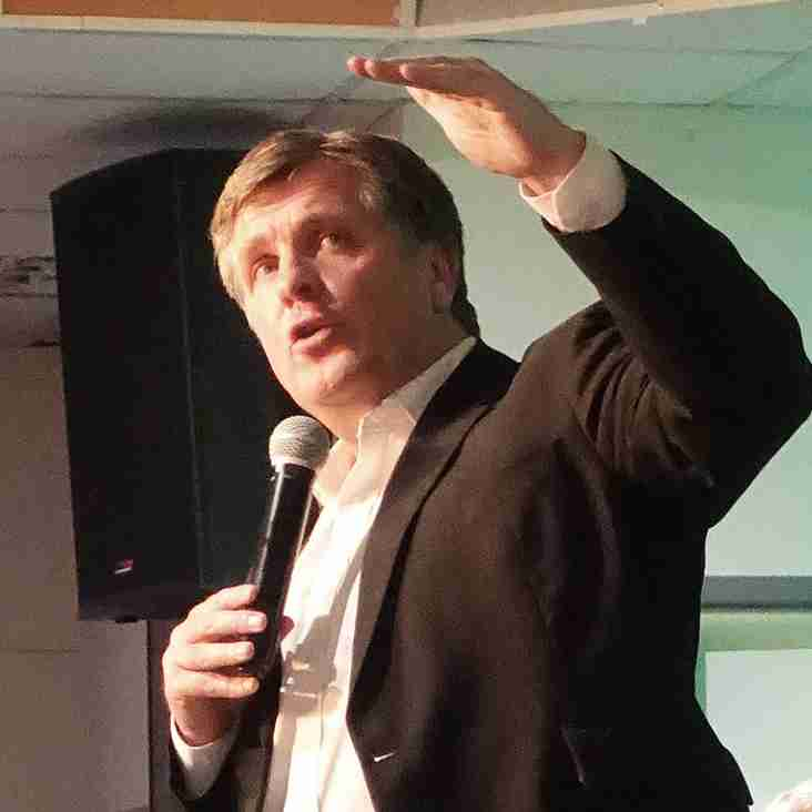 NEWS: Successful night at Sportsmans Dinner with Jan Molby