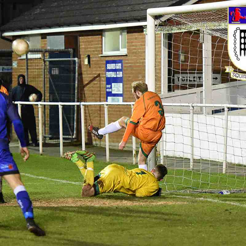 Squires Gate 1-2 Burscough - Thursday 30th November 2017 (Macron Cup)