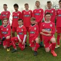 Under 14 Reds beat FC Rangers Blues Under 14's 1 - 0