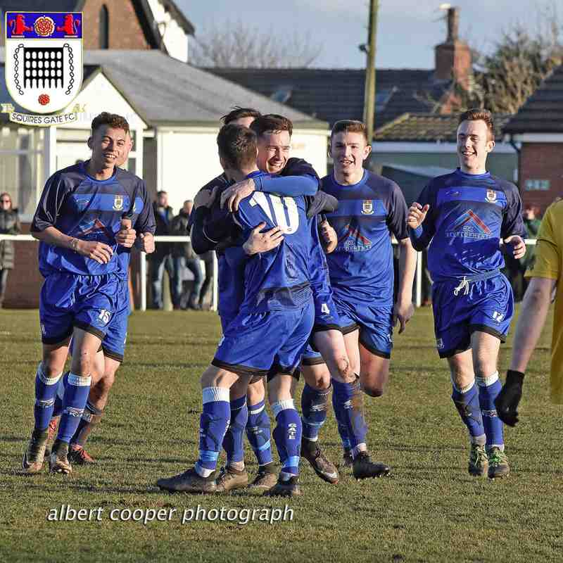 Squires Gate 3-2 City of Liverpool - Saturday 17th February 2018