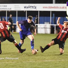 Squires Gate 2-2 Maine Road - Tuesday 17th April 2018