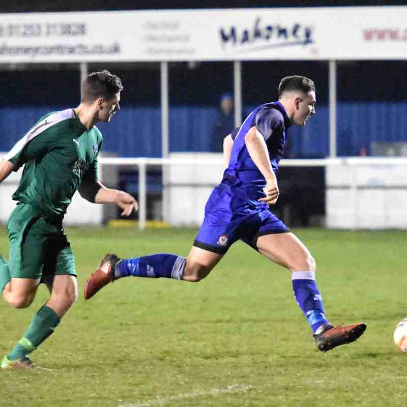 Squires Gate 5-0 Northwich Victoria - Thursday 12th April 2018