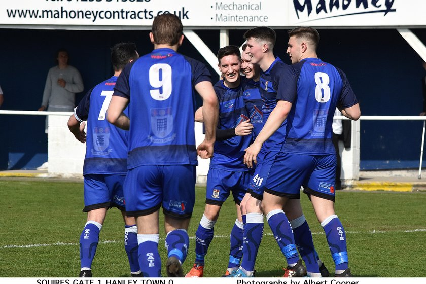 REPORT: Squires Gate 1-0 Hanley Town