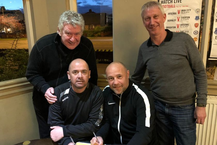 NEWS: Squires Gate delighted to announce that Manager Andy Clarkson and Assistant Manager Terry Green have agreed a new two-year deal with the club