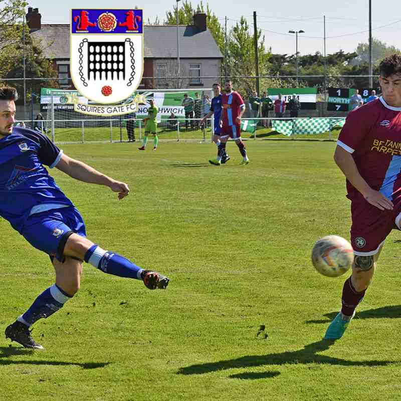 Squires Gate 0-3 1874 Northwich - Saturday 5th May 2018