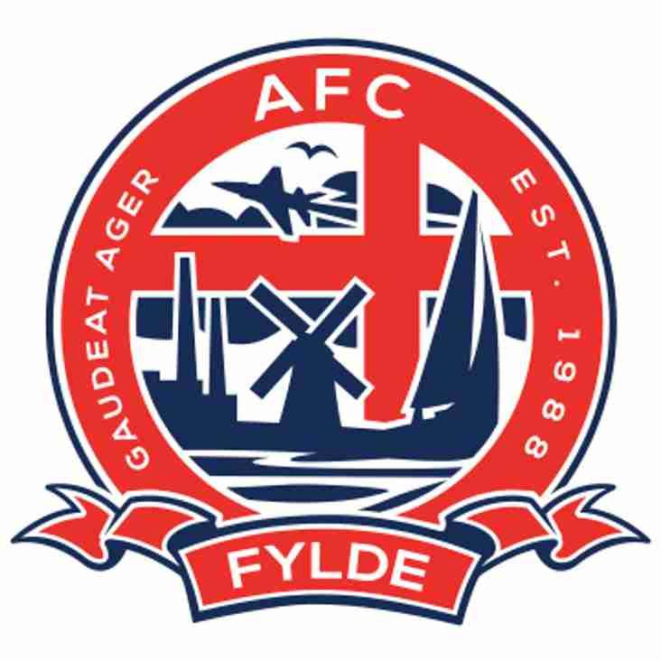 PRE-SEASON: Gate to welcome Vanarama National League side AFC Fylde for pre-season test