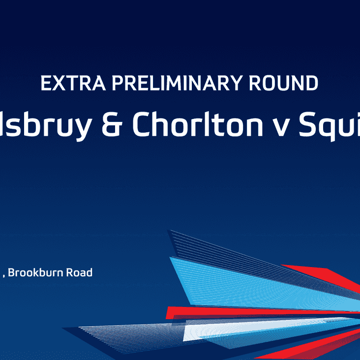 MATCH PREVIEW: West Didsbury & Chorlton v Squires Gate (FA Cup)