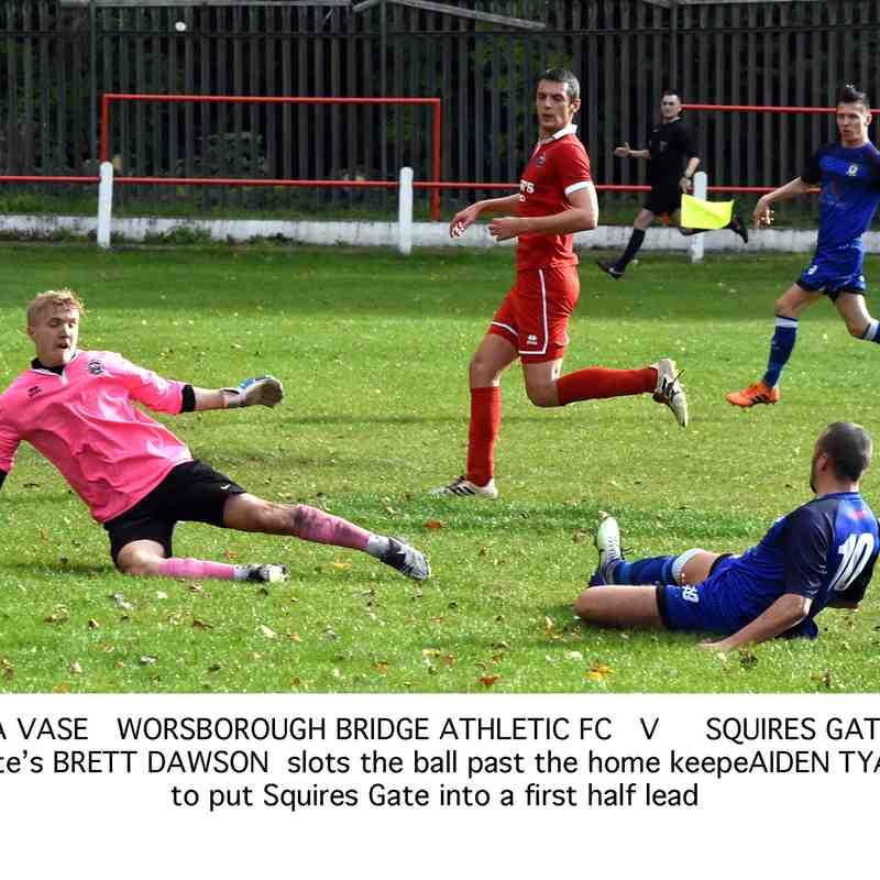 Worsbrough Bridge Athletic 0-2 Squires Gate (FA Vase) - Sunday 16th September 2018