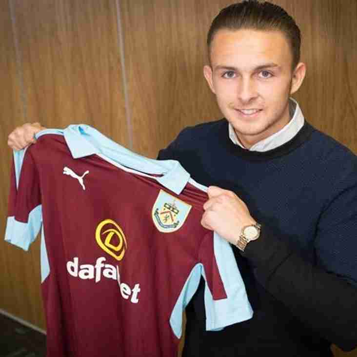 SIGNING: Ex Burnley and Wales U19's forward Jamie Thomas joins Gate.