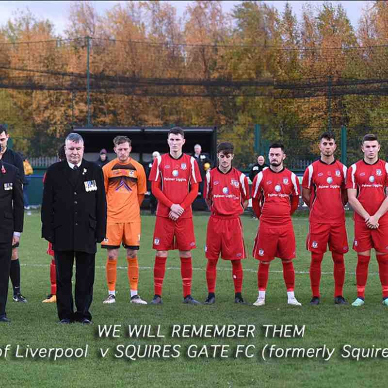 City of Liverpool 1-0 Squires Gate - Saturday 10th November 2018 (Macron Cup)