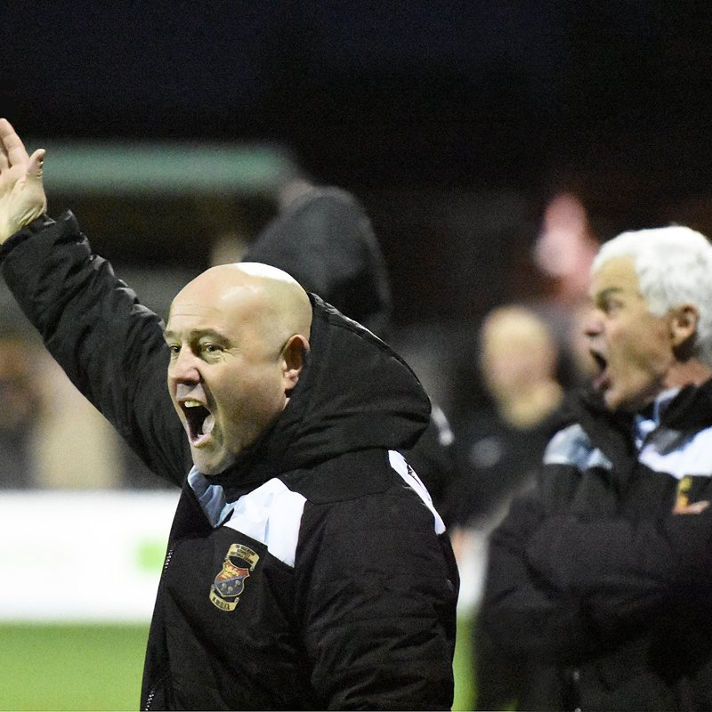 AUDIO: Manager Andy Clarkson on Abbey Hey win