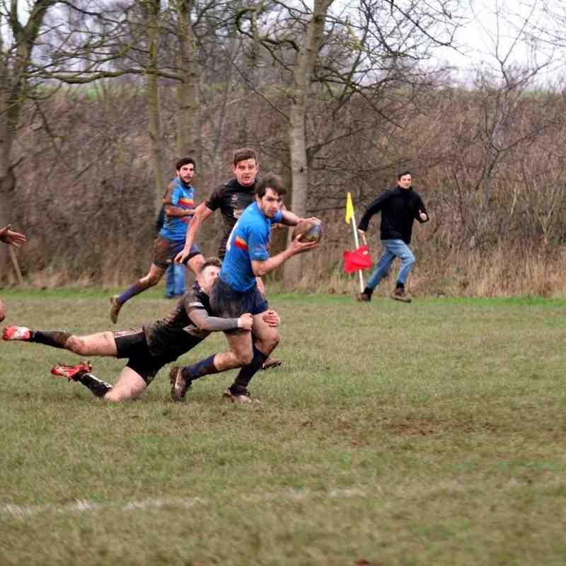 Spartans 1st  vs leamington rfc 23/01/2016
