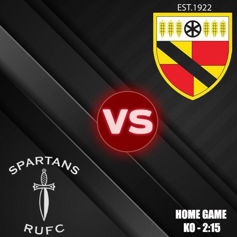 Spartans 32 - Crewe & Nantwich 19
