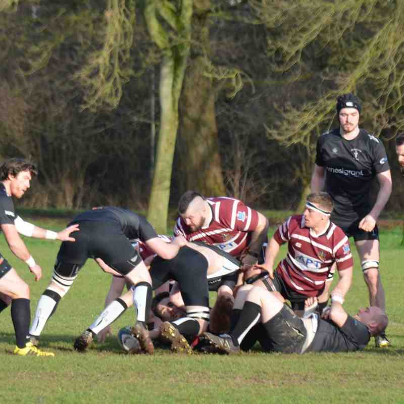 Spartans 1s Vs Newcastle (Staffs) 1s Away