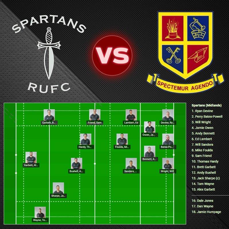 Spartans RUFC 26 - 17 Old Saltleians