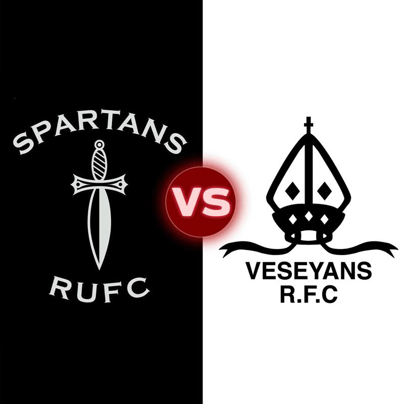 Spartans 13, Old Veseyans 10.